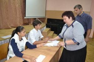 Адміністрація закладу бере участь у голосуванні